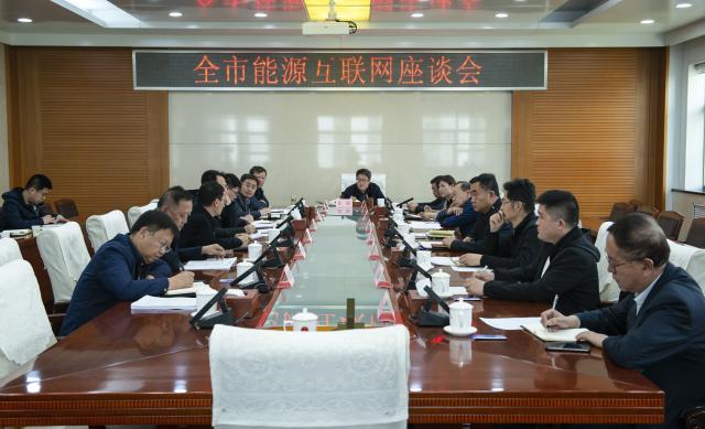 张韬出席全市能源互联网座谈会